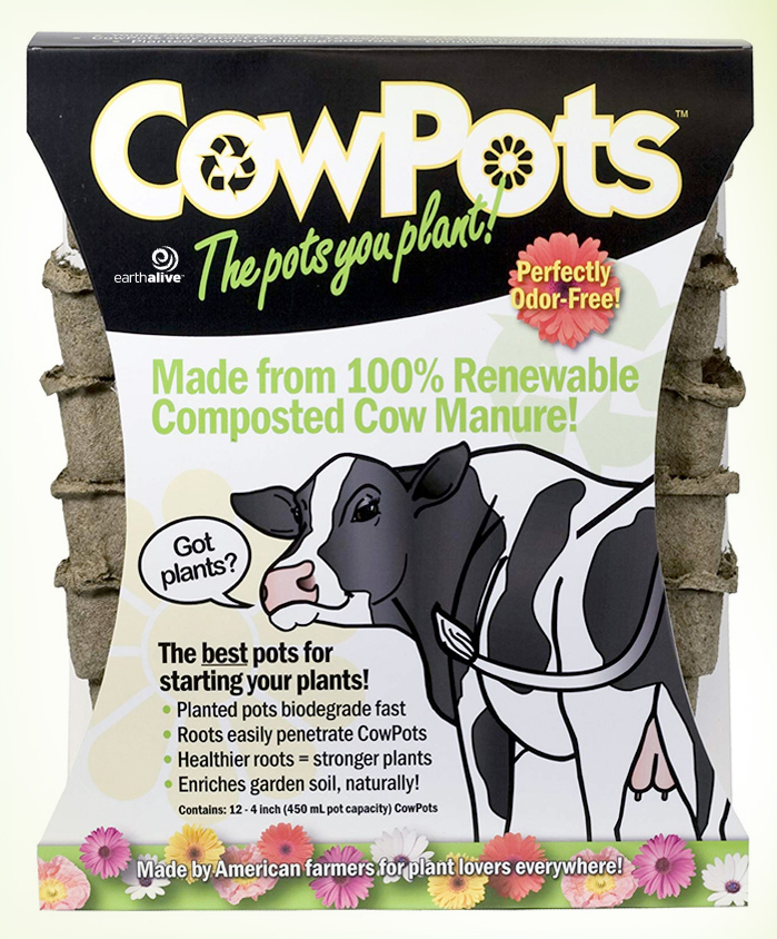 Cowpots – Seed Starting Pots