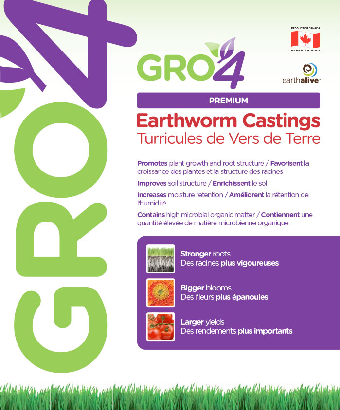 Gro4 – Earthworm Castings